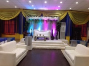 Zainab engagement stage decoration