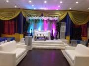 Zainab engagement stage decoration